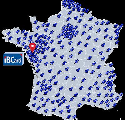 Intelligente Digitale Visitekaartjes Van IBCARD